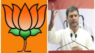 People living in glass houses should not throw stones at others: BJP to Rahul Gandhi
