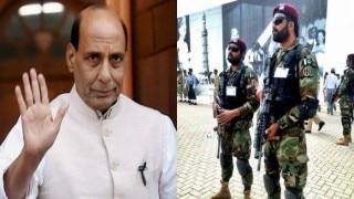 पाकिस्तान में राजनाथ सिंह की सुरक्षा में 200 कमांडो रहेंगे तैनात