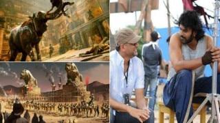 'बाहुबली' 2 के सेट की शानदार तस्वीरें हुईं लीक , देखिए एक से बढ़कर एक फ़ोटोज़