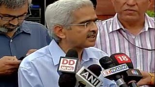 After Indian economy hits a new low, the growth for this year will be near 8 per cent: Shaktikanta Das