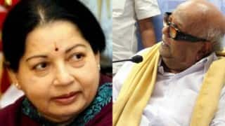 Jayalalithaa alleges Karunanidhi lifted dry law, vows phased prohibition