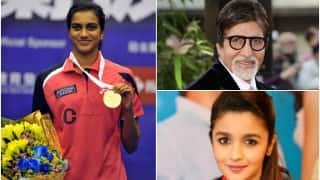 Bollywood hails golden girl P V Sindhu's silver at Olympics