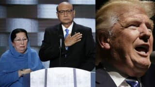 Father of slain United States Muslim soldier says Donald Trump has 'a dark heart'