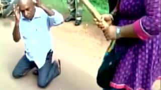 Odisha girls thrash drunk eve teaser left and right, teach him a lesson he won't forget! (Watch Video)