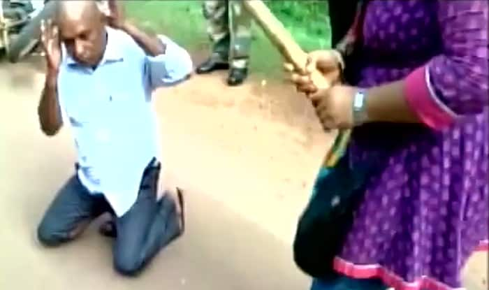 Tutor thrashed in public for eve-teasing