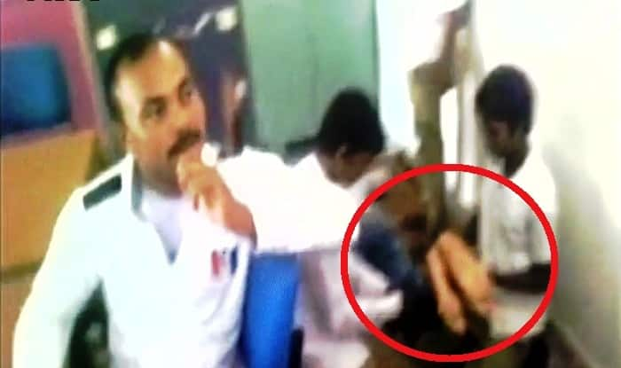 Chhattisgarh Teacher Caught Getting Massage From Class Th Students Watch Video