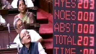 GST: When electronic voting machine gave moments of amusement in Rajya Sabha