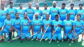 Men's hockey team slips one place to sixth in FIH rankings