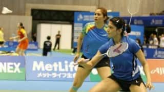 Jwala Gutta-Ashwini Ponnappa India Badminton LIVE Score: Rio Olympics 2016 India Vs Thailand Women's doubles Live Updates