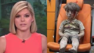 Anchor Kate Bolduan could not hold her tears On Air while reporting the story on Syrian Boy