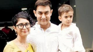 Aww! Aamir Khan's Son Azad Cries When He Sees His Father Getting Punched In Films