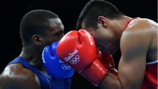 Vikas Krishan Yadav at Rio Olympics 2016: Indian boxer through to Round of 16 in men's middle 75 kg boxing