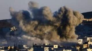 Yemen official, medics say 14 killed in Saudi-led airstrike