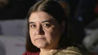 Maneka Gandhi confident about passage of anti-trafficking bill in December
