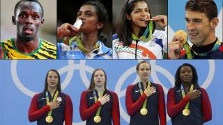 Rio Olympics 2016: PV Sindhu shines for India as Usain Bolt, Micheal Phelps bid adieu to the Olympics