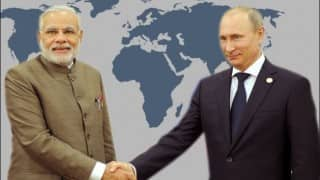 Narendra Modi says keen to expand ties with Russia