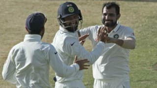 India vs England 3rd Test: Mohammad Shami cleans up tailenders as Visitors post 283