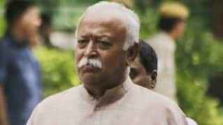 Congress criticises Mohan Bhagwat's statement on Hindu population