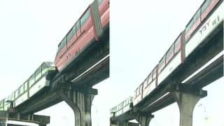 Mumbai: Monorail stuck near Bhakti Park station, passengers evacuated, services halted