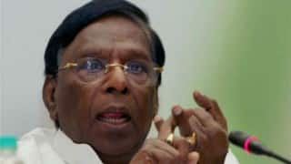 Puducherry Chief Minister V Narayanasamy vows to provide 'corruption-free government'