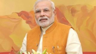पीएम मोदी ने भाजपा के नए कार्यालय की आधारशिला रखी
