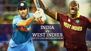 India vs West Indies 1st T20 2016 Match Preview: Familiar foes IND-WI battle it out in America
