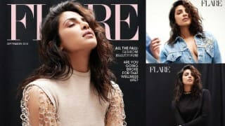 Quantico lass Priyanka Chopra sizzles on the cover of Flare Magazine