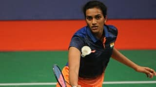 P V Sindhu receives Rs 3 crore cheque from Andhra Pradesh government