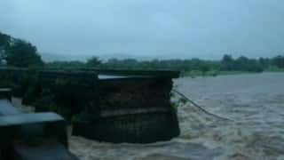 Bridge on Mumbai-Goa highway collapses due to heavy rainfall, 22 people missing, Chetak Helicopter to carry out search operations