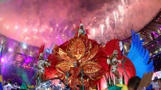 Flame extinguished & International Olympic Comittee President declares Rio Olympic Games 2016 closed