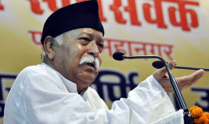 Sena takes a dig at Bhagwat's Hindu population comment