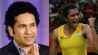 Sachin Tendulkar to present BMW car to PV Sindhu