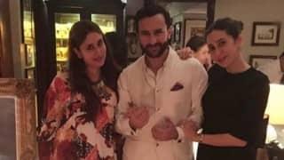This picture of soon-to-be parents Kareena Kapoor & Saif Ali Khan is just too cute to handle!
