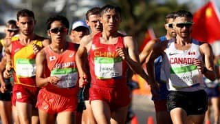 Sandeep Kumar Athlete, India Rio 2016 LIVE Score: Athletics 50km Walk, Live Updates, Sandeep Kumar bows out