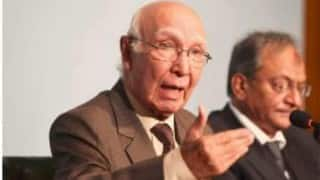 Revoking of Indus Water Treaty will be treated as 'act of war': Sartaj Aziz