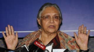 Sheila Dikshit: Women are unsafe in Uttar Pradesh,  Samajwadi Party government must be suspended for its failure