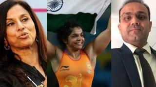 Virender Sehwag takes jibe at Shobhaa De after Sakshi Malik wins medal at Rio 2016
