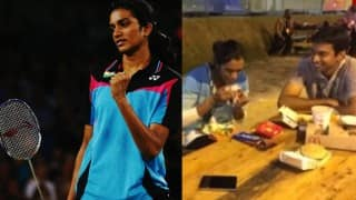 Rio Olympics 2016: PV Sindhu along with mentor Gopichand had ice-cream and her favourite meal on this 'impromptu dinner'