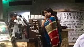 Smriti Irani trends on internet for her utter simplicity, spotted waiting in queue at Starbucks