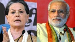 From PM's turf, Sonia Gandhi hits out at Narendra Modi government