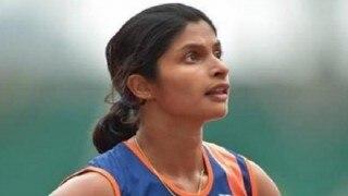 रियो ओलम्पिक (एथलेटिक्स): 200 मीटर हीट-5 में छठे स्थान पर रहीं श्रावणी