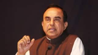 Subramanian Swamy takes on Arvind Subramanian again,terms continuance 'tolerance'