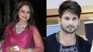 Elated grandma Neelima Azeem reveals how Shahid Kapoor is taking good care his little daughter