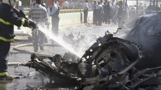 Suicide bombing at Somalian local government headquarters & market killed 17 people and injured 30