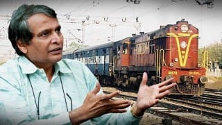 Removal of unmanned rail crossings a priority: Railway Minister Suresh Prabhu