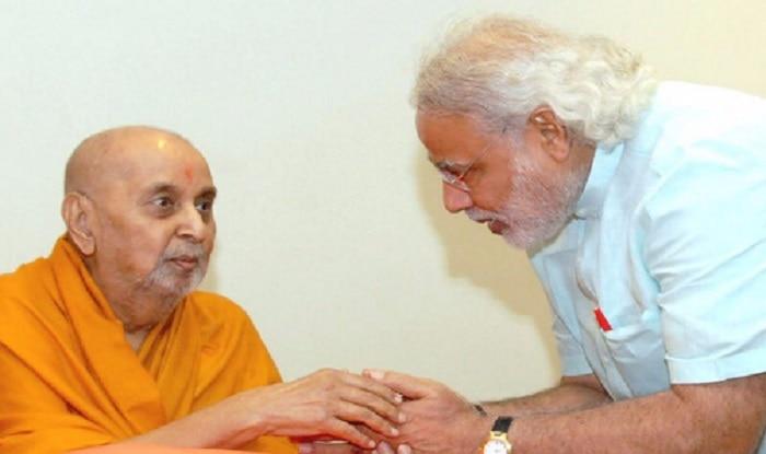 Praful Patel condoles Pramukh Swami's demise