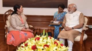 UK minister Priti Patel meets PM Narendra Modi, discusses skill development programme in India