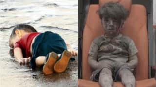 From Aylan Kurdi to Omran Daqneesh: How haunting images of toddlers remind us the horror of devastating war in Syria