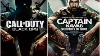 Captain Nawab first look: Emraan Hashmi's Indo-Pak soldier poster COPIED from Call of Duty: Black Ops