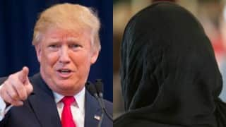 Hijab-clad Muslim woman evicted from Donald Trump rally